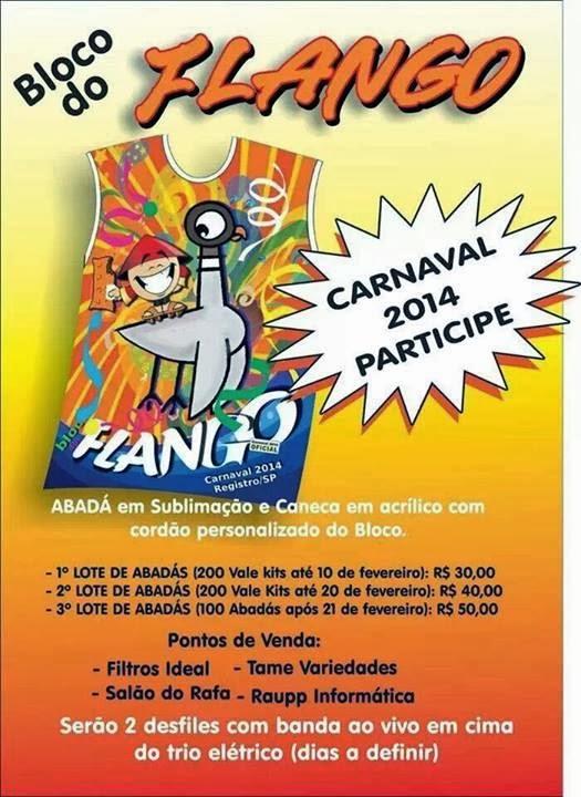Bloco do Flango!!