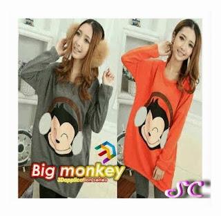 baju rajut monkey