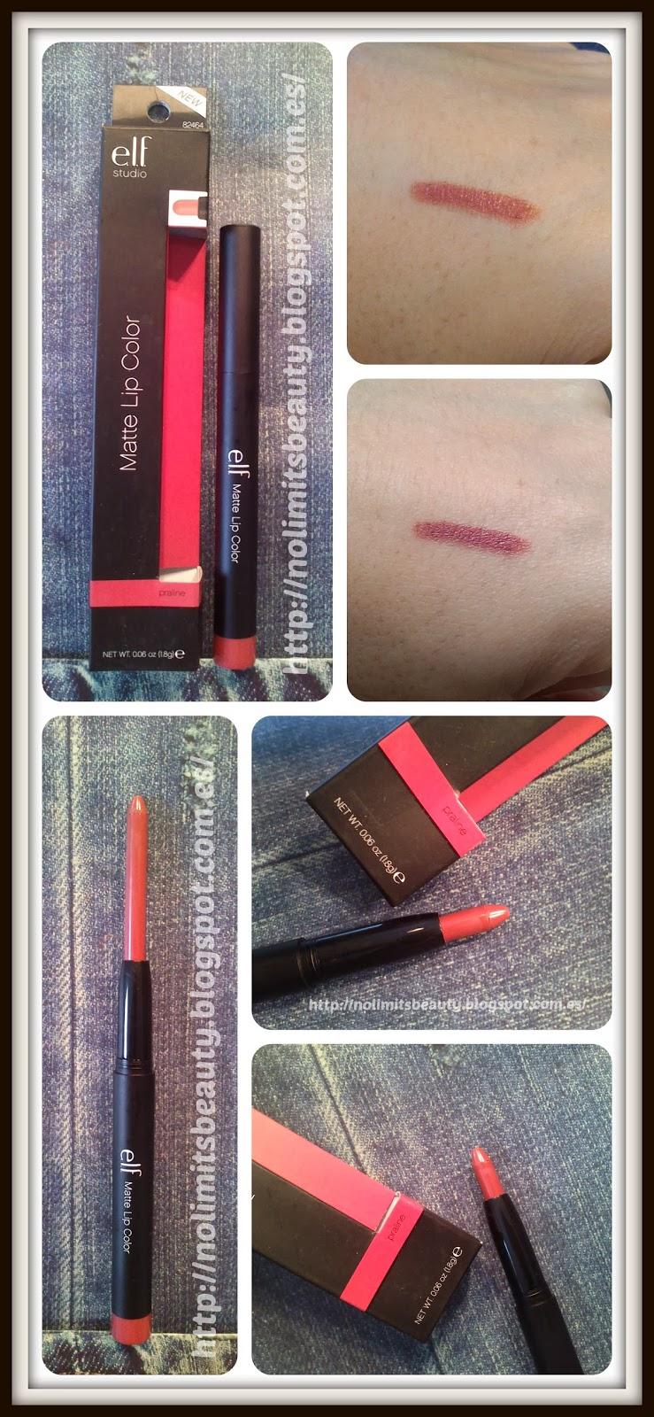 iHerb - ELF Matte Lip Color - Praliné