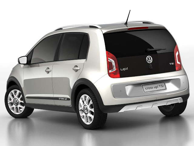 Volkswagen up! TSI Cross-up! 2016 Turbo