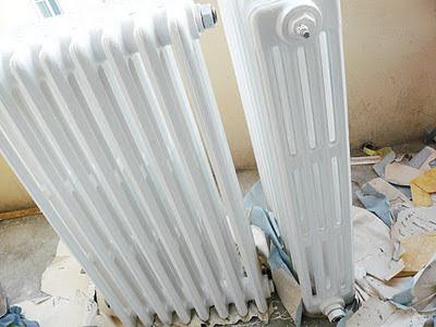 Petits radiateurs en fonte