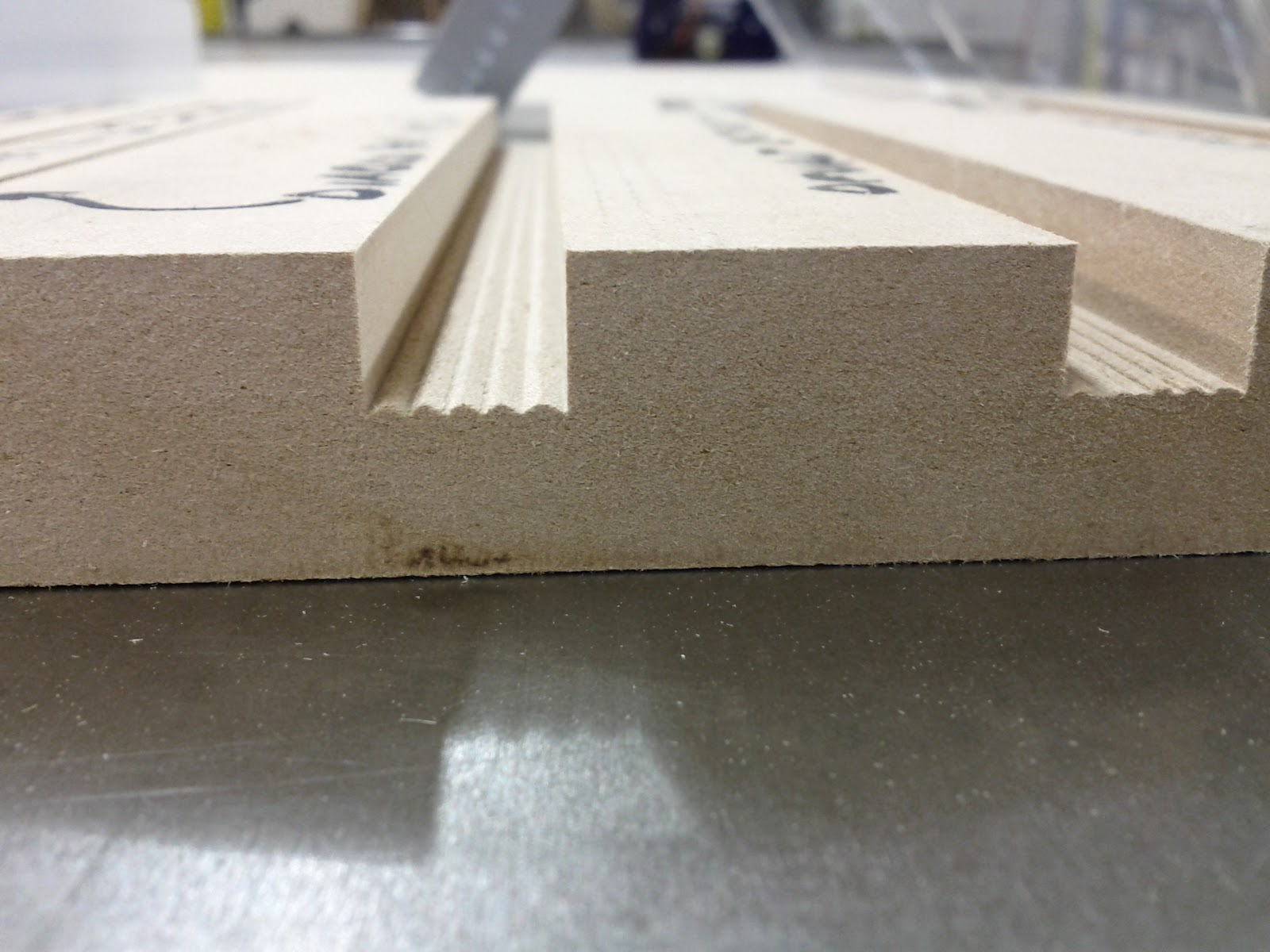 Credentiality Flat Bottom Table Saw Cuts