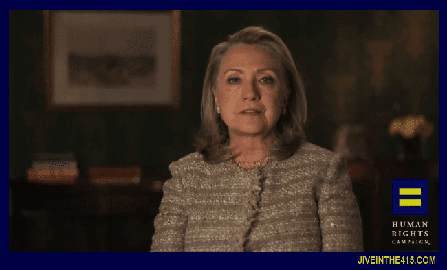 Hillary Clinton announces her support for marriage equality 2013