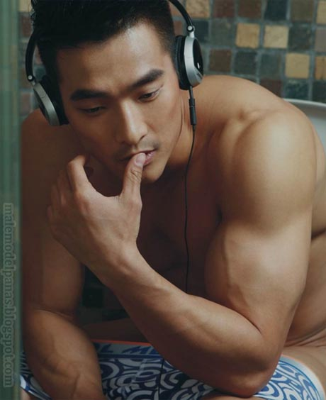 Asian Men Underwear Model-Jin Xiankui
