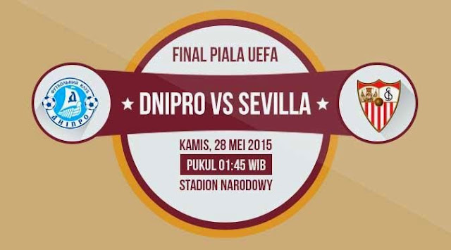 Dnipro vs Sevilla Final Liga Europa 2014-2015
