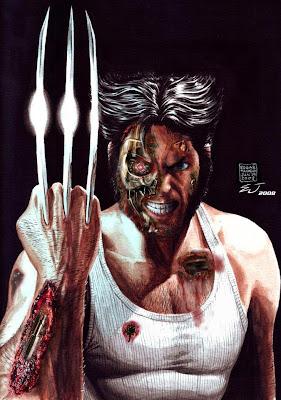 Fusão: Wolverine + Exterminador do Futuro