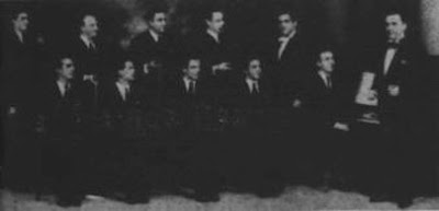 Jose Basso en piano en la orq. de Alberto Cima, radio Porteña(1937)