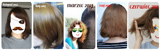 Moja Włosowa Historia w zdjęciach: rok głupoty, eksperymentów i ciężkiej pracy