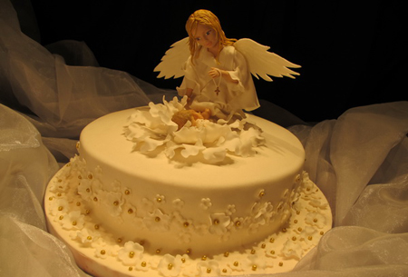 Birthday Cakes For You Angel Cake