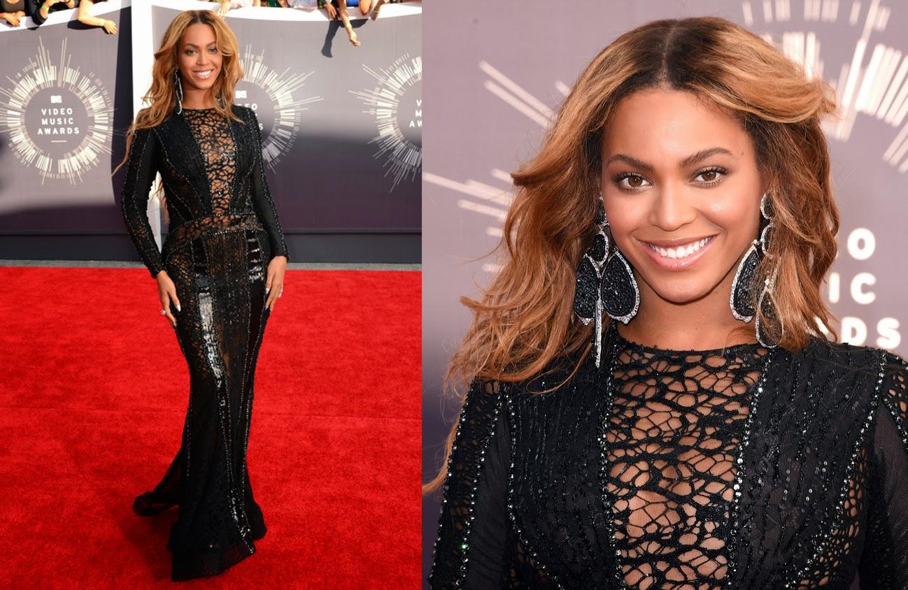 looks, maquiagens, bonitas, VMA, 2014, Beyonce