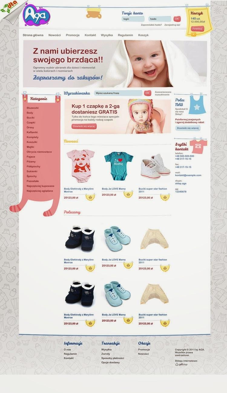 dịch vụ thiết kế website bán hàng cho bé