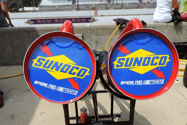 Sunoco, the Official Fuel of NASCAR® since 2004, is the exclusive provider of racing fuel for NASCAR's three national series. #crownheroes #jww400 #reignon #nascar