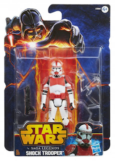 Hasbro Star Wars Saga Legends Clone Shock Trooper Figure