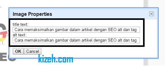 Cara memaksimalkan gambar dalam artikel dengan SEO alt dan tag