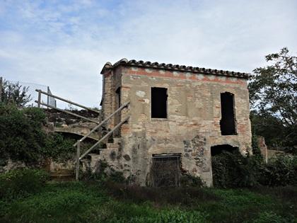 El vell molí d'aigua de les Fonts de Salitja