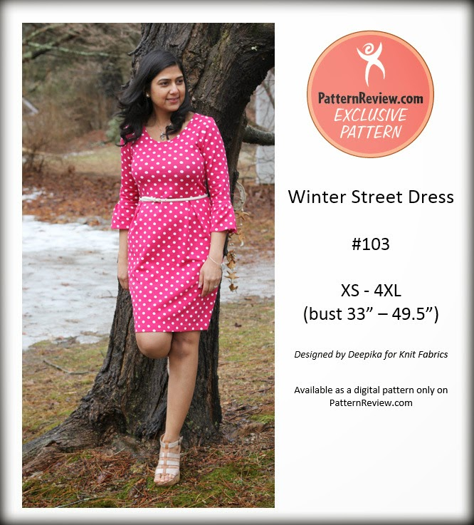 Winter Street Dress Patternreview