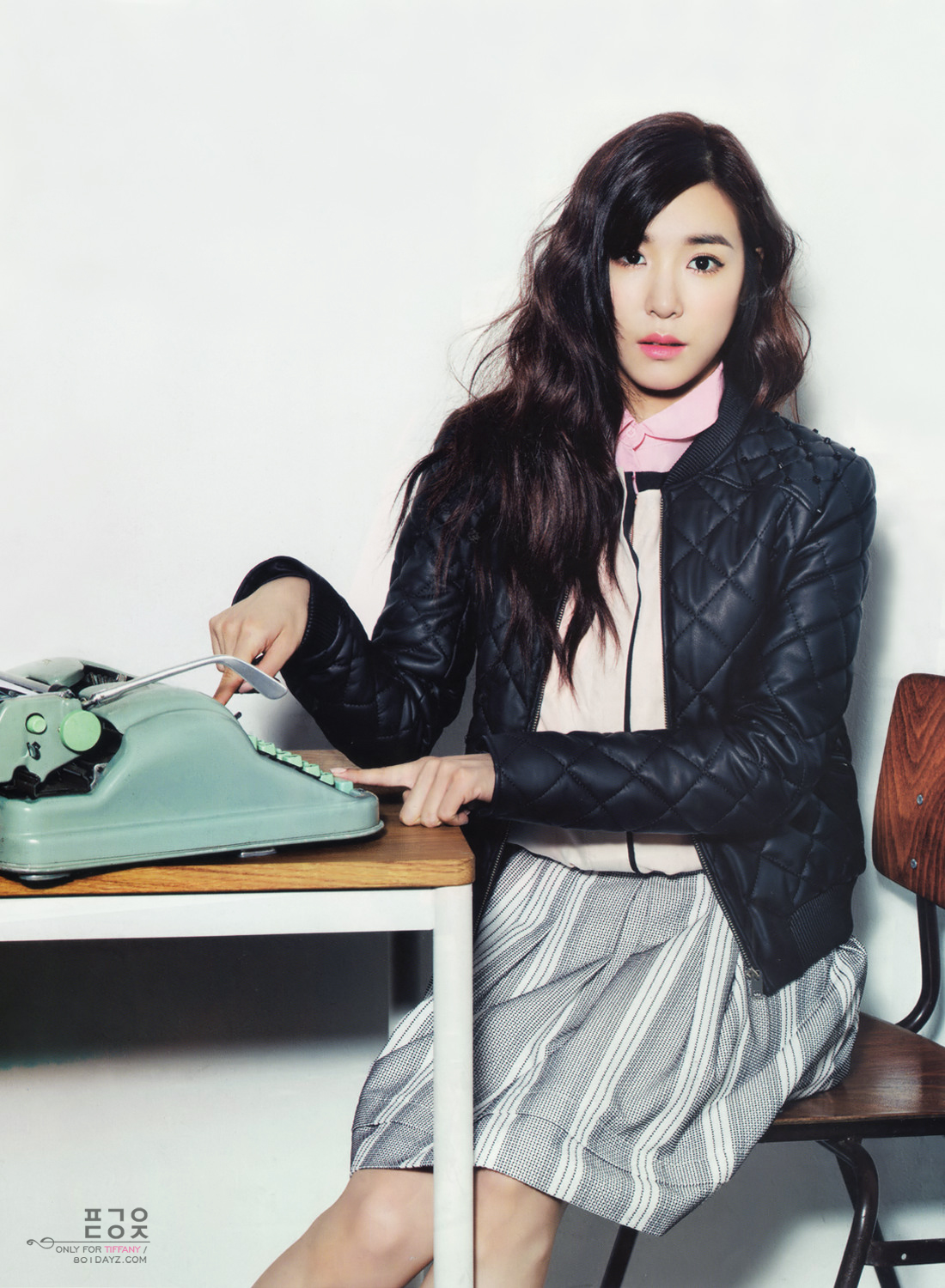 130819 Tiffany @ Vogue Girl Magazine September Issue HD Scans