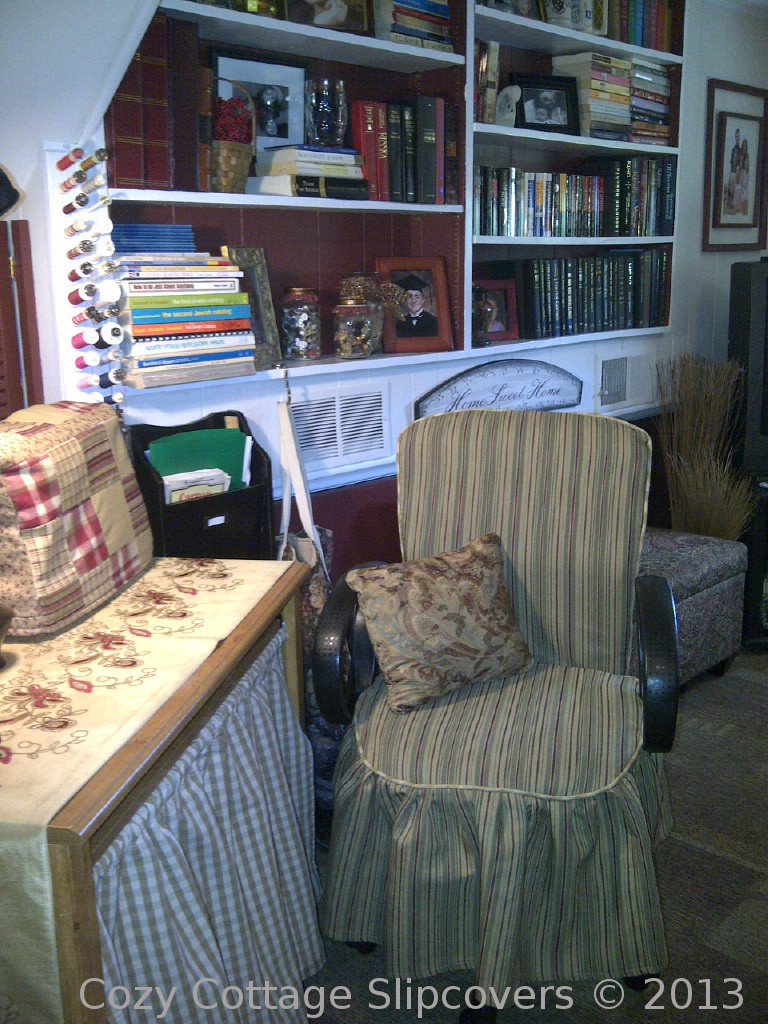 Cozy cottage slipcovers new office chair slipcovers - Before Posted By Cozy Cottage Slipcovers