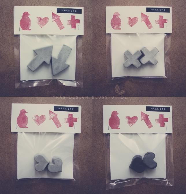 Ynas Design Blog, Oh, Beton!-Shop, Beton-Magnete