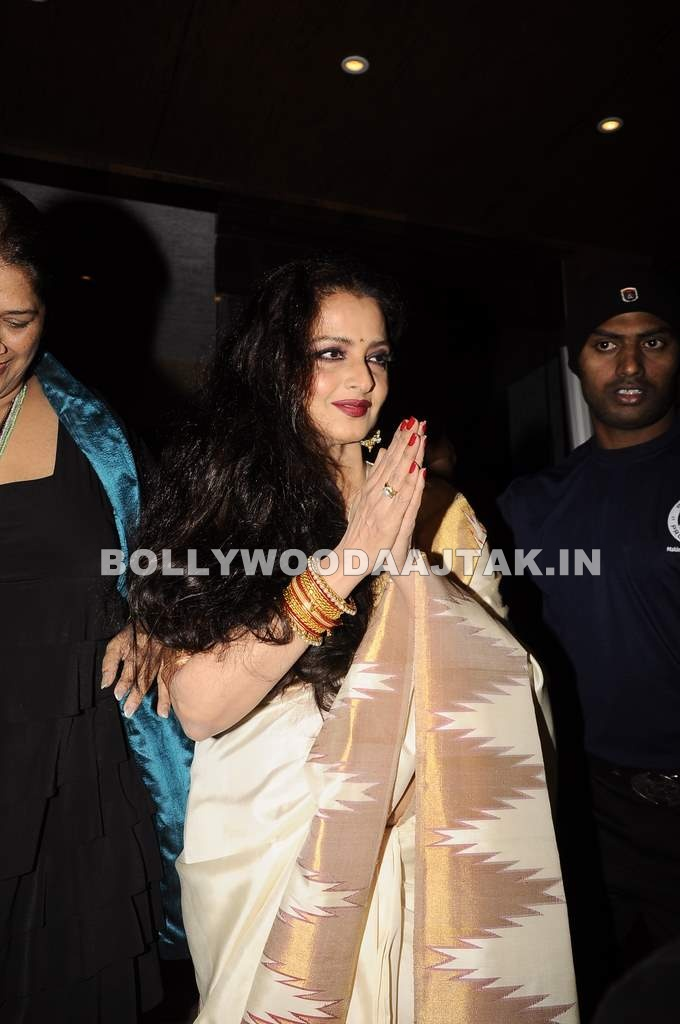 Rekha1 - Rekha at Mangiamo restaurant launch