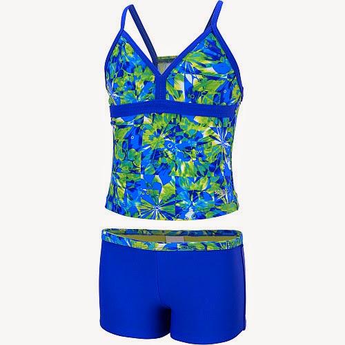 Sports authority coupon 25%: Speedo Girls' Tie-Dye Blaze 2-Piece Swimsuit