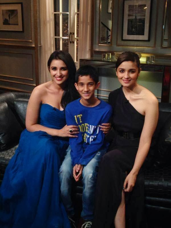 Alia and Parineeti on Koffee with Karan
