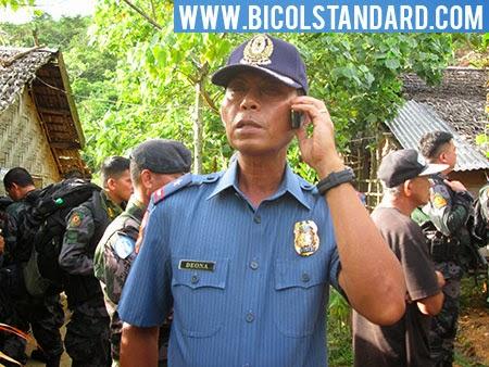 PNP Bicol Regional Director Victor P. Deona
