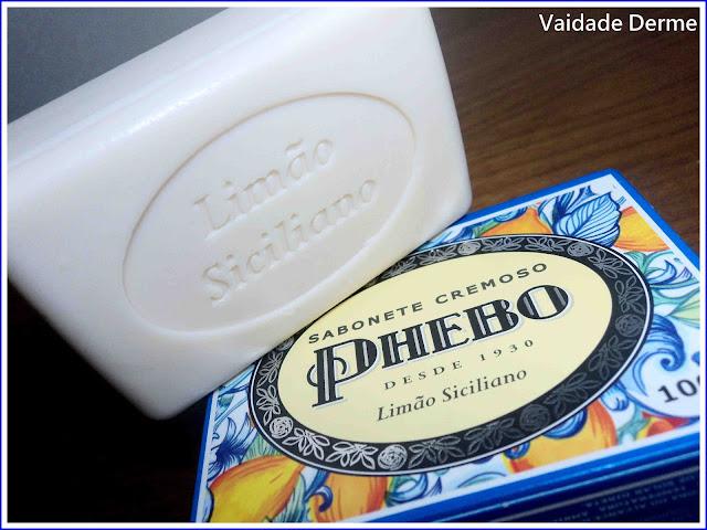 Sabonete Limão Siciliano da Phebo