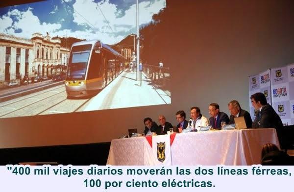 """BOGOTÁ: """"Tren de cercanías se convierte en la iniciativa privada más importante del país"""": Petro"""