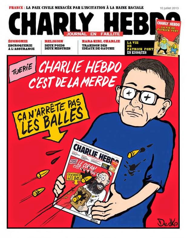 Charlie Hebdo, szatíra, karikatúra, Franciaország, terrorizmus, párizsi vérengzés,