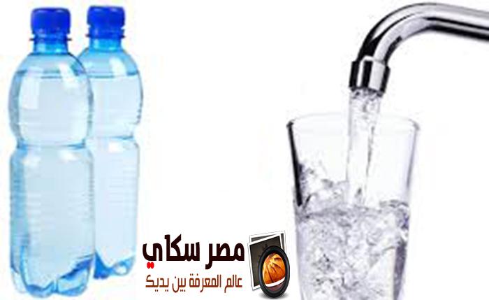 المياه المعدنية فوائدها وأضرارها الصحية