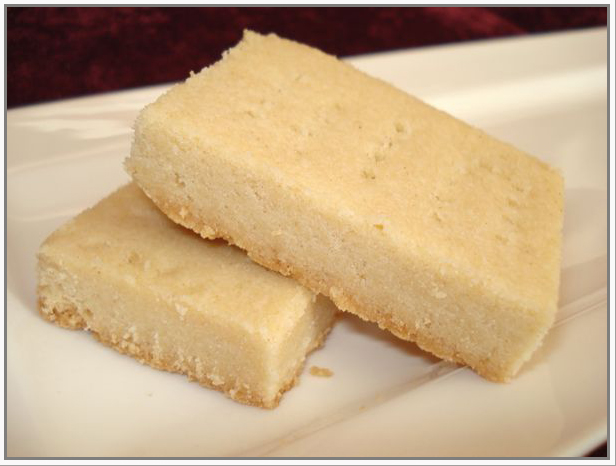 cakes craft & quilts: Easy Peasy Shortbread