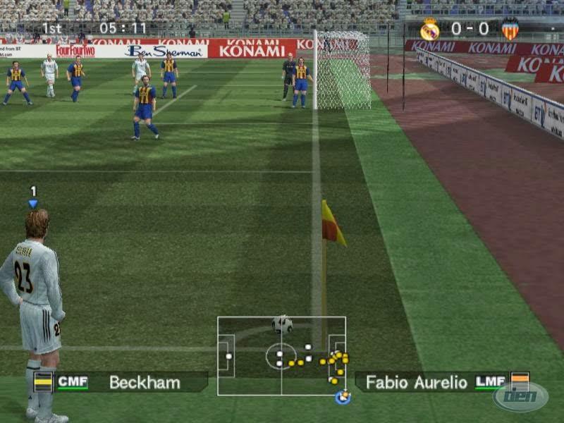 Winning Eleven 9 : Game Olahraga Sepak Bola Untuk PC Spesifikasi Rendah