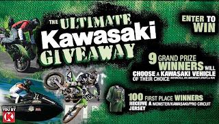 Kawasaki Giveaway
