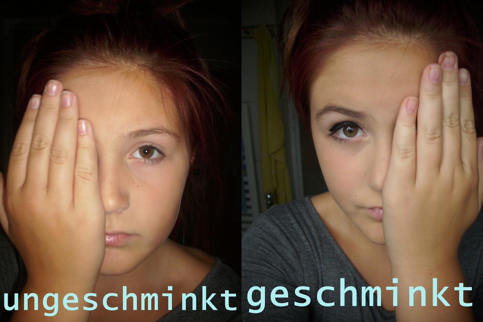 Lucy Beauty: UNGESCHMINKT VS. GESCHMINKT