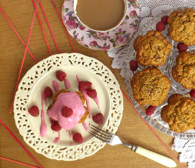 Malinowe muffinki