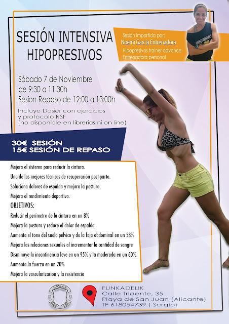 Sorteo Sesión Hipopresivos en Funkadelic San Juan - Blog Cosasdhermanas