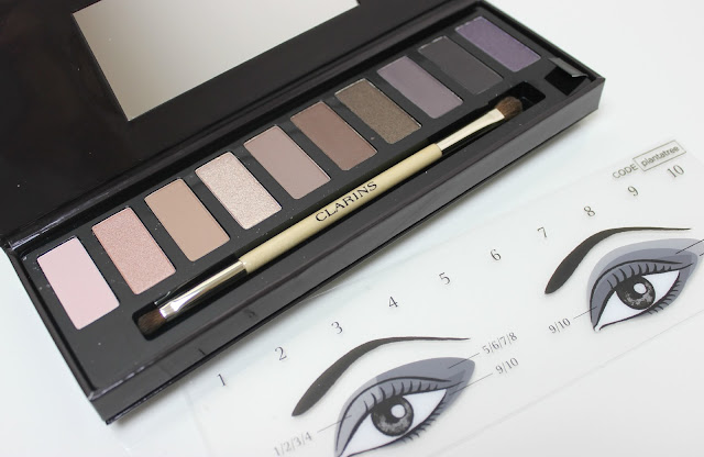 Step-by-step guides for using the Clarins The Essentials Festive Eye Make-Up Palette 2015