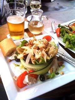 Le Pre aux Clerc, Paris, cucumber, melon, Ernest Hemingway, Rue Bonaparte, Rue Jacob