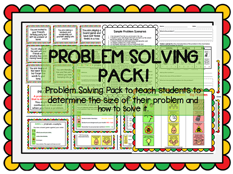 https://www.teacherspayteachers.com/Product/Problem-Solving-Pack-Unit-on-little-medium-big-problems-social-skills-ASD-1279690