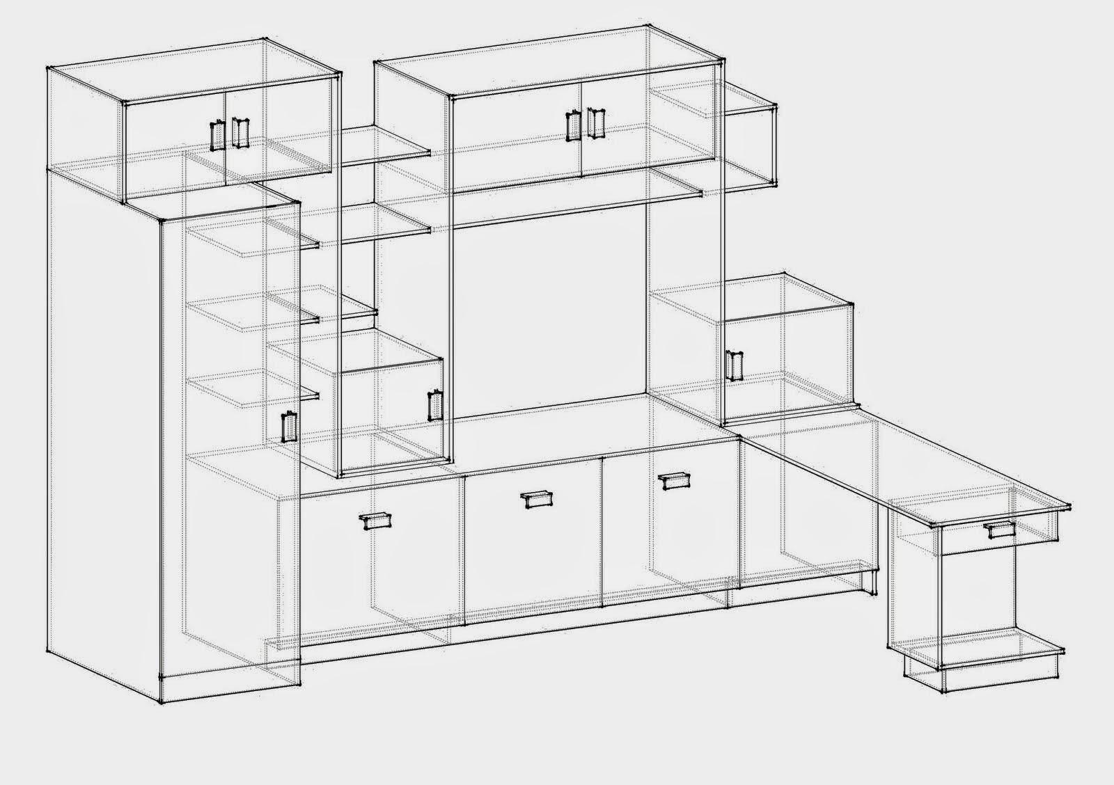 2014 grado10 tecnologia e informatica for Planos muebles madera