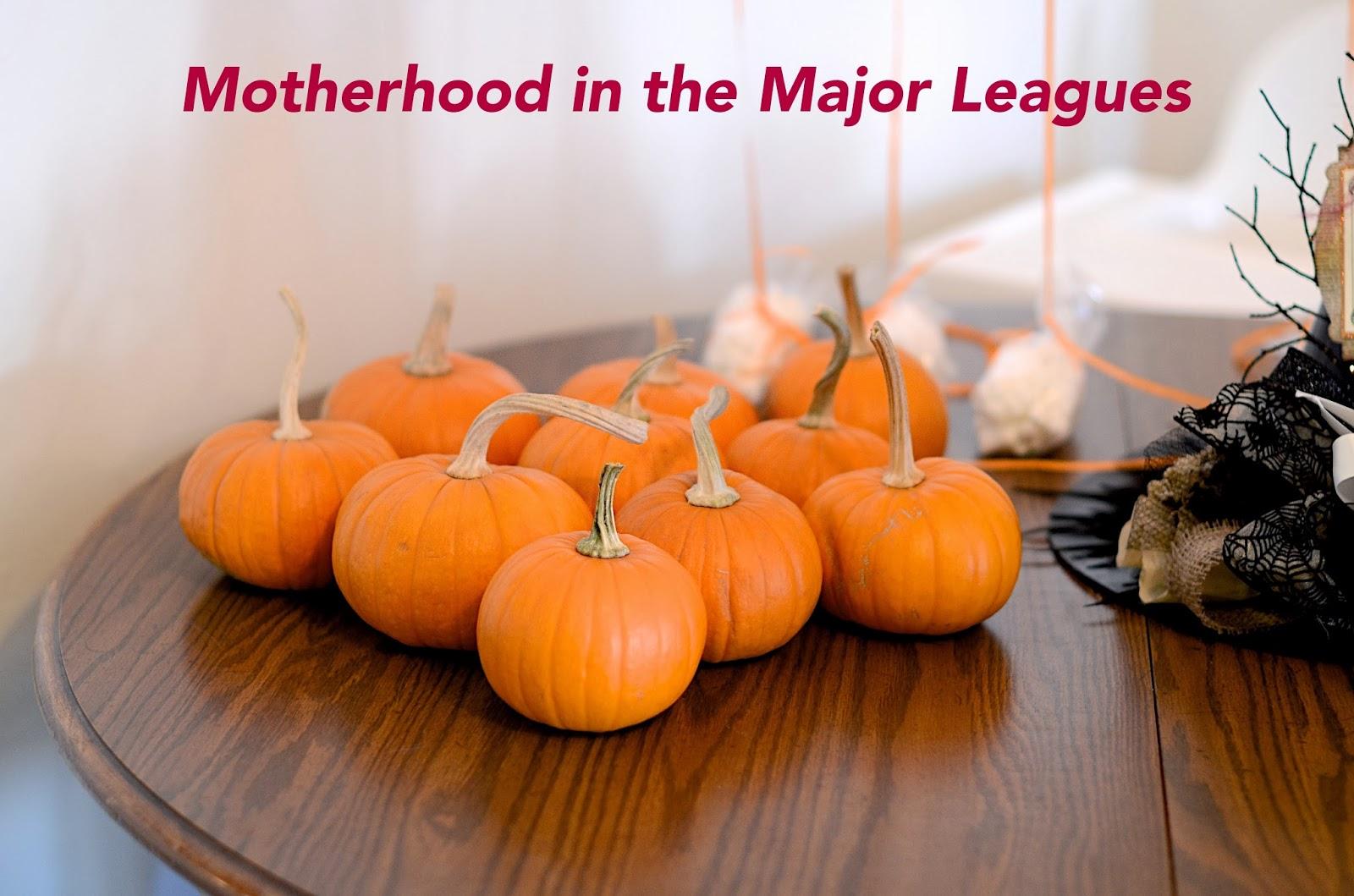 Motherhood in the Major Leagues : DIY Saturday: Toddler Halloween ...