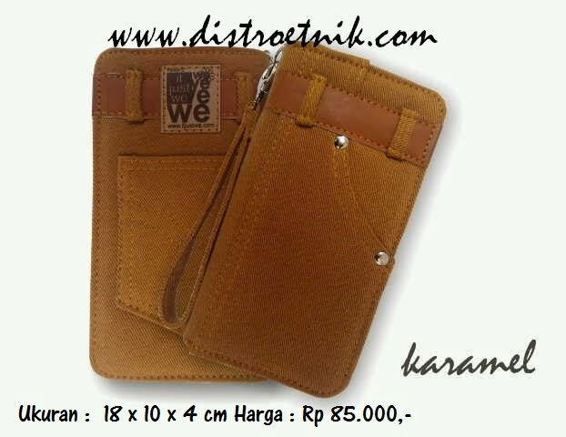 dompet jeans it just we classic series karamel