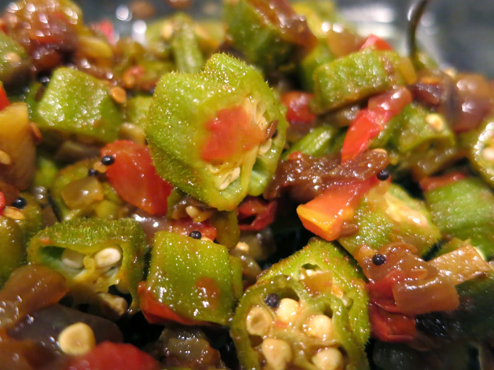 Okra And Tomatoes Recipes — Dishmaps