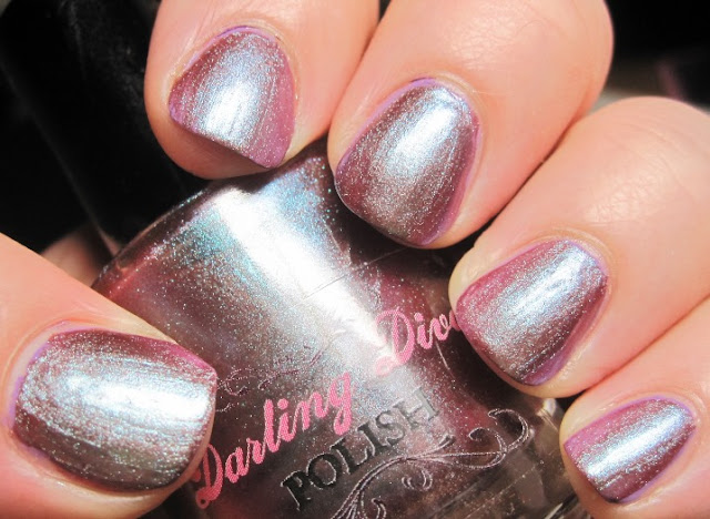 Darling Diva Persephone over Milani Violet Dash