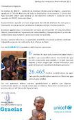 3900 euros recaudados para Unicef