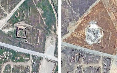 Αρχαίο χριστιανικό μνημείο στο Ιράκ κατέστρεψε το Ι.Κ.