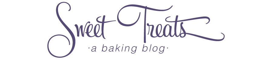 Sweet Treats: a baking blog