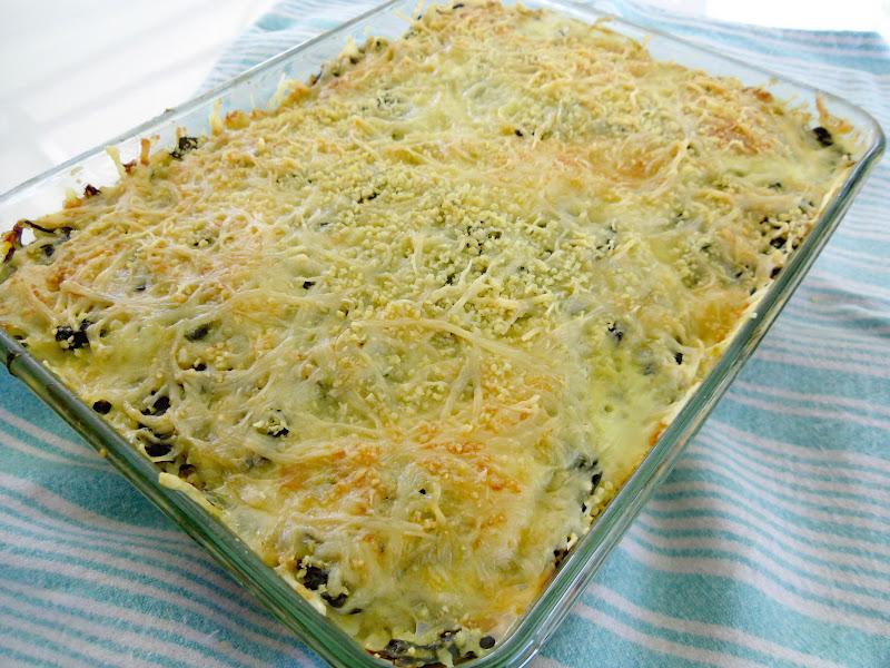 Gourmande ou passionn e gratin de maquereau au riz et - Comment cuisiner des feuilles de blettes ...