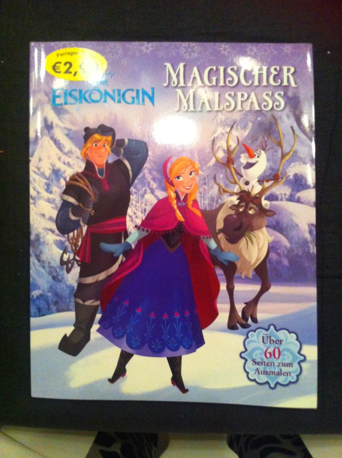 Disney Dreamer Frozen Books From Germany Haul